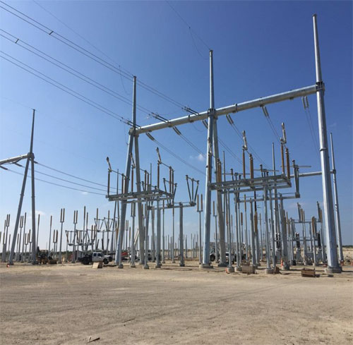 Power lines inc projects for Substation design